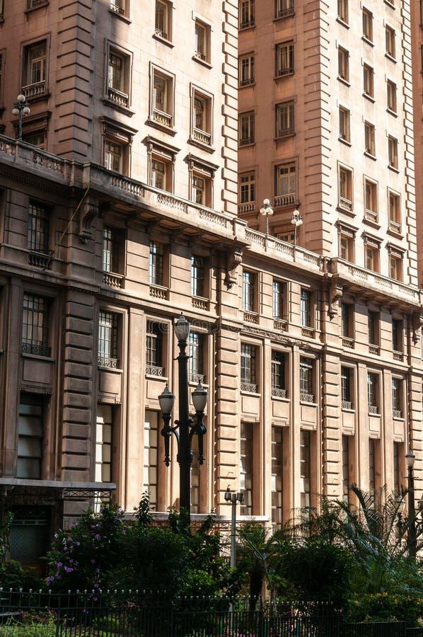 Prédio de escritórios em Sao Paulo foto de stock royalty free