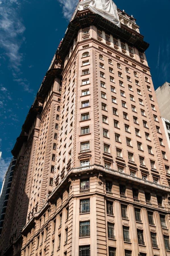 Prédio de escritórios em Sao Paulo fotografia de stock royalty free