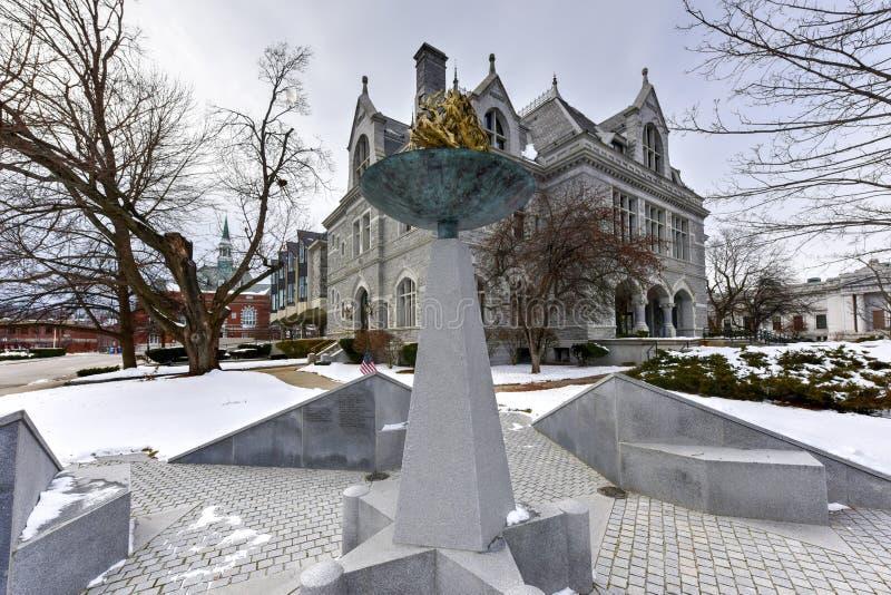 Prédio de escritórios legislativo de New Hampshire fotografia de stock royalty free