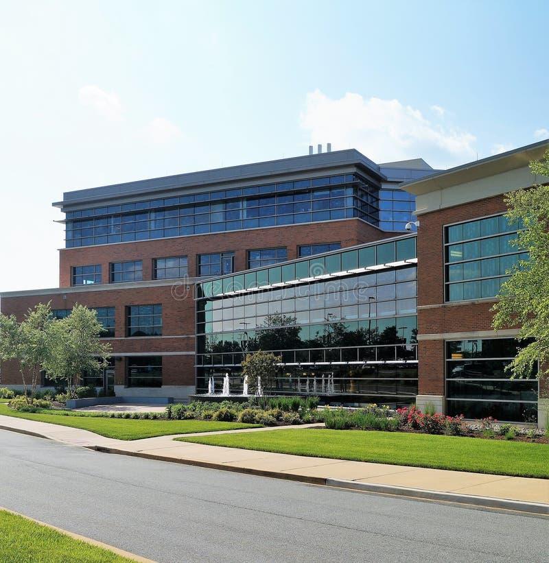 Prédio de escritórios médico imagem de stock