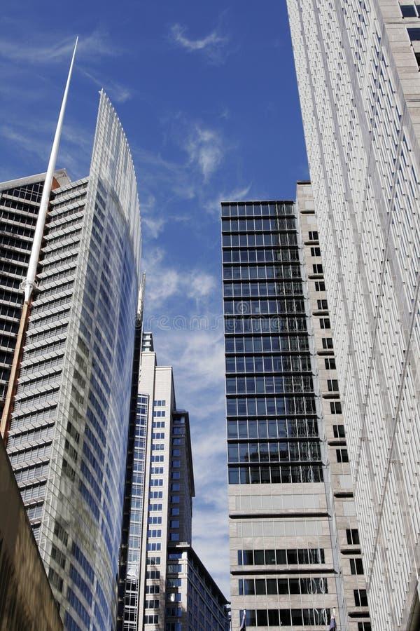 Prédio de escritórios moderno em Sydney, Austrália fotografia de stock
