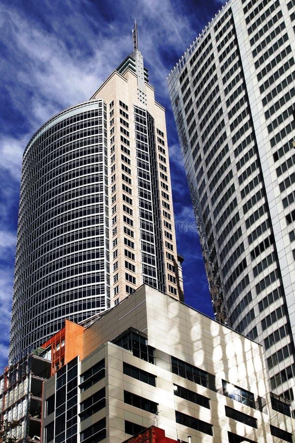 Prédio de escritórios moderno em Sydney, Austrália imagem de stock