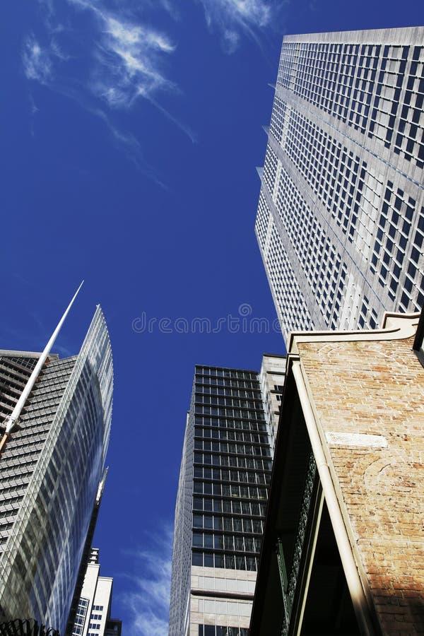 Prédio de escritórios moderno em Sydney, Austrália imagem de stock royalty free