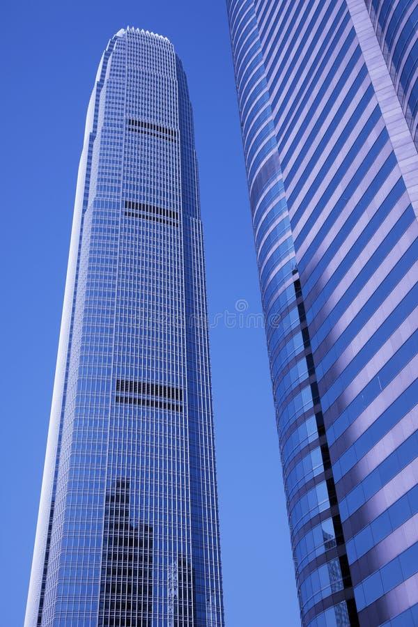 Prédio de escritórios moderno, Hong Kong, China fotografia de stock royalty free