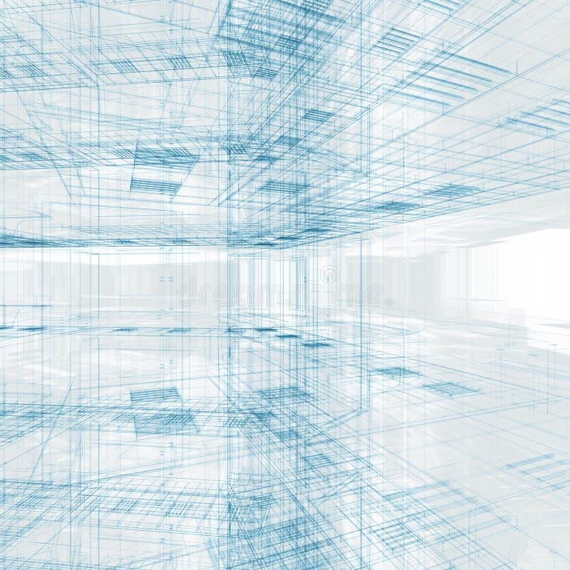 Download Prédio De Escritórios Para Dentro Ilustração Stock - Ilustração de real, exterior: 16861050