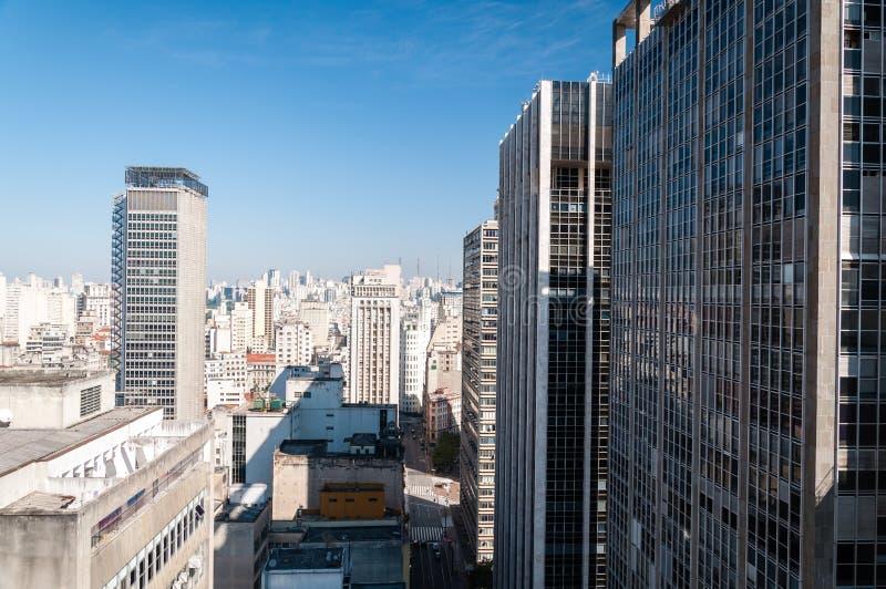 Prédio de escritórios Sao Paulo foto de stock royalty free