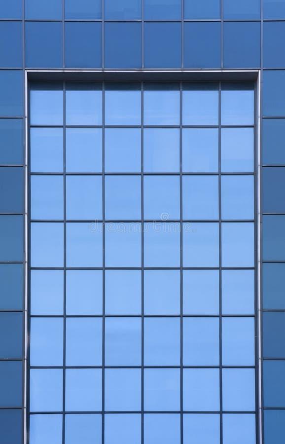 Prédio de escritórios Windows imagem de stock royalty free