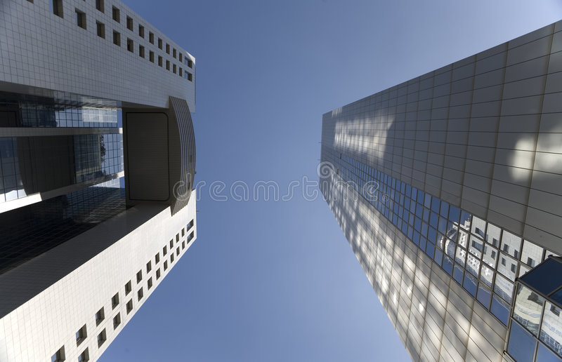 Prédios de escritórios fotografia de stock royalty free
