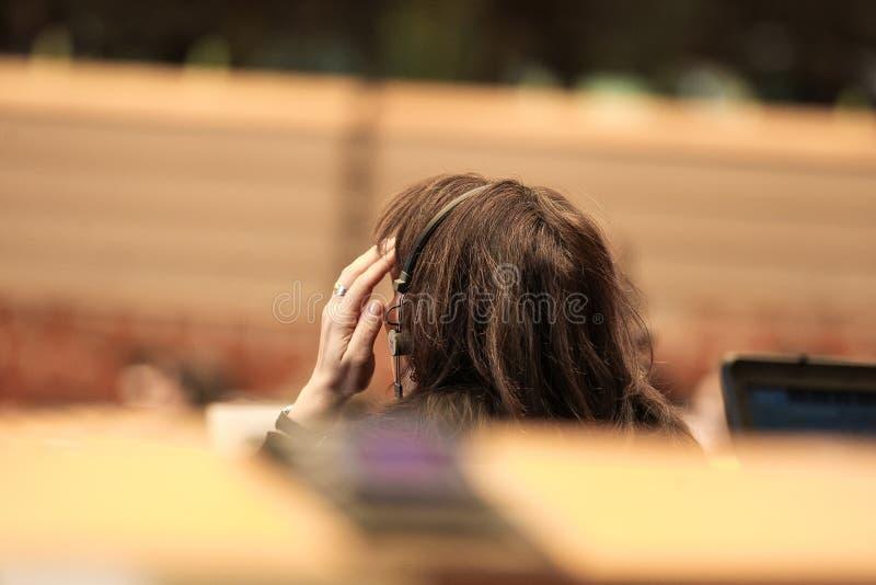 Prédios de escritórios do Parlamento Europeu imagem de stock