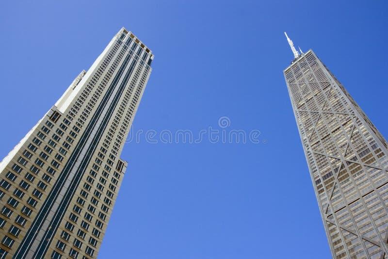 Prédios de escritórios em Chicago imagens de stock