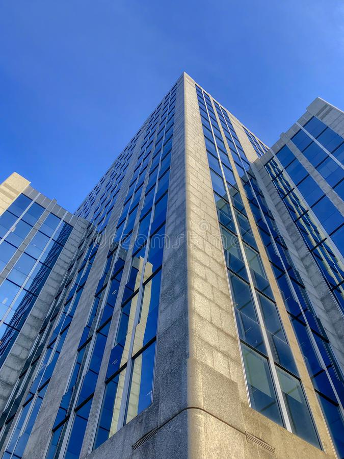 Prédios de escritórios que skyling imagem de stock royalty free
