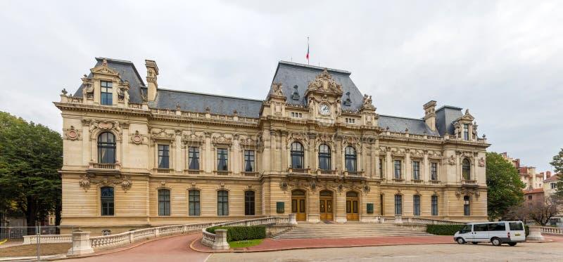 Préfecture de la region le Rhône-Alpes à Lyon, France photo stock