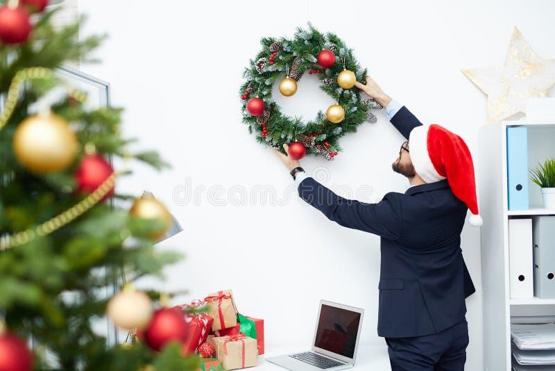 Préparation à Noël photos libres de droits