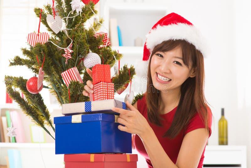 Préparation au jour de Noël photos stock