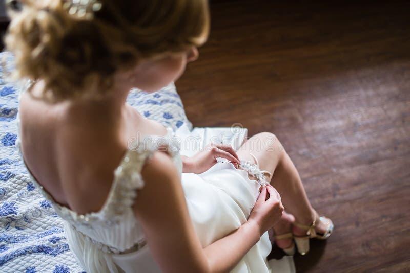 Préparation au jour du mariage photos stock