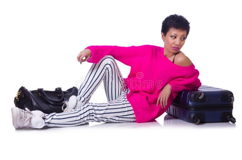 Préparation De Femme Photo stock