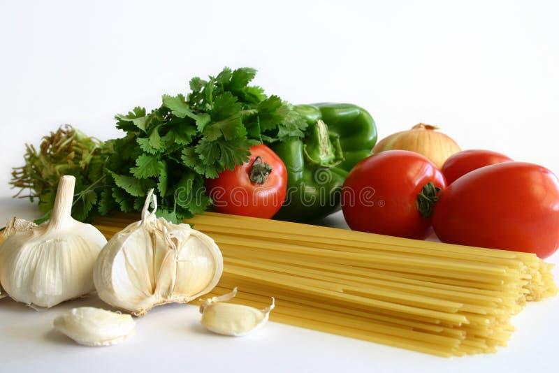 Préparation de pâtes photo stock