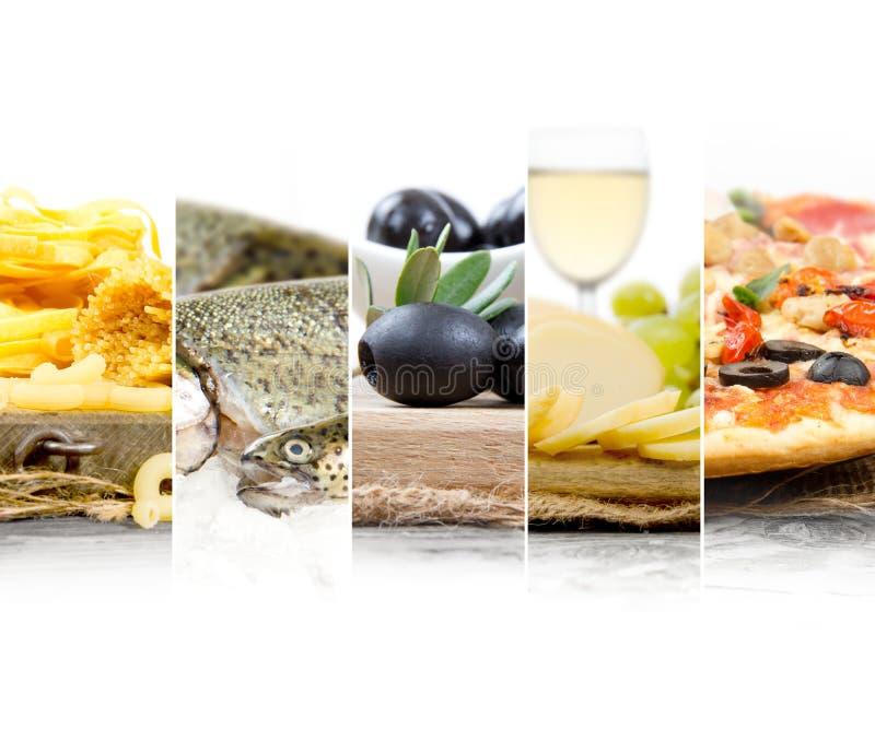 Préparation italienne de nourriture photographie stock libre de droits