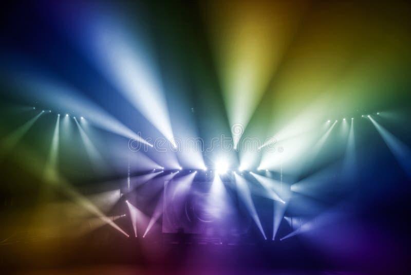Préparation pour un concert image libre de droits