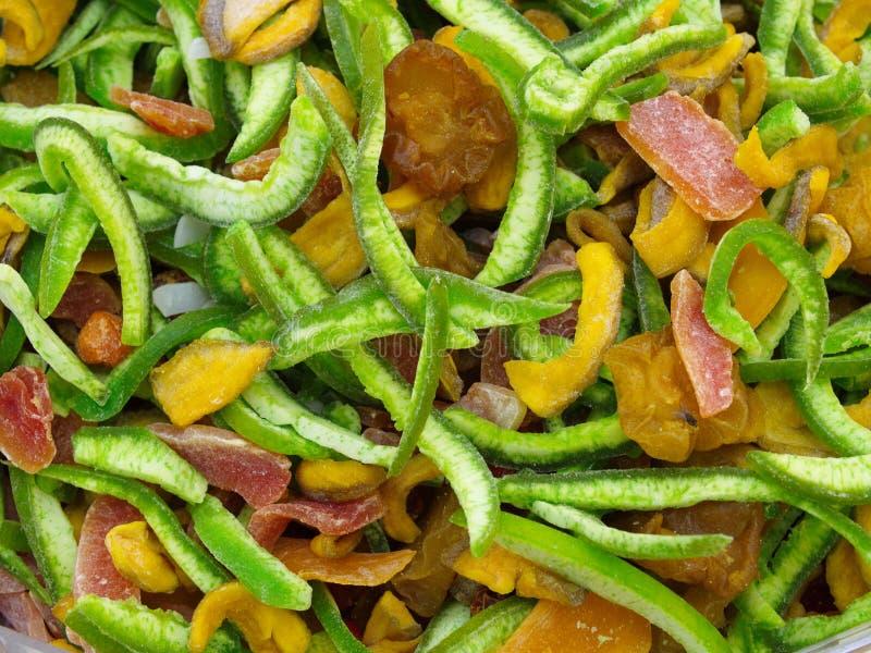 préparation sèche de fruit tropical photo stock