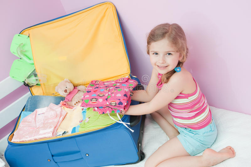 Préparez pour des vacances d'été images stock