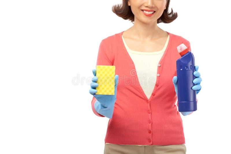 Préparez pour le nettoyage photo stock