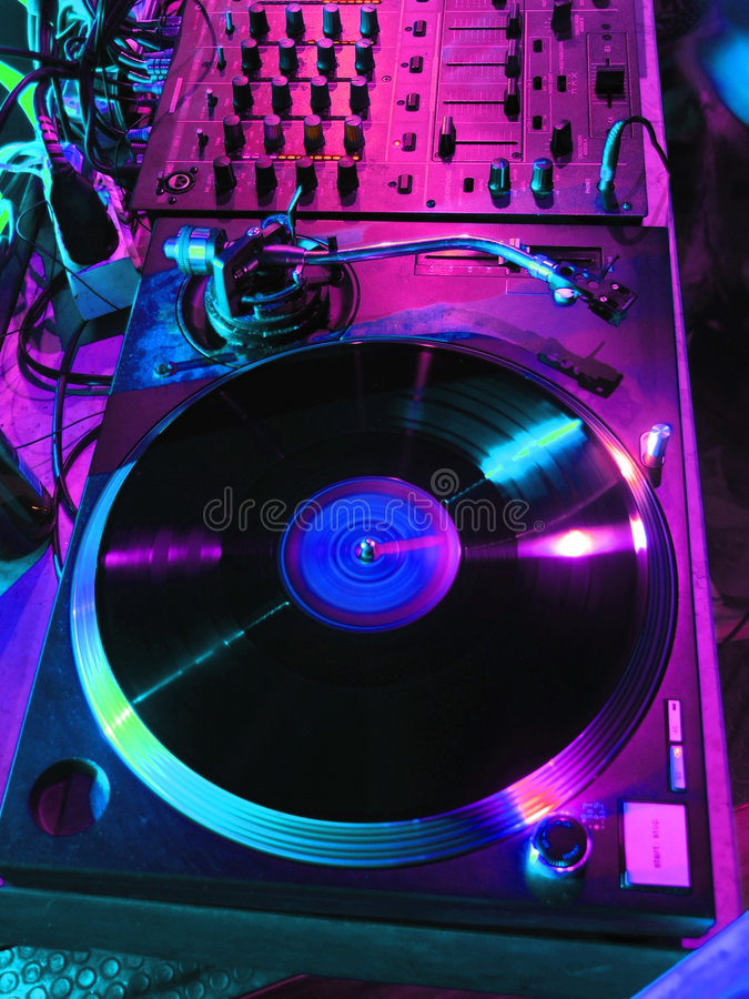 Préparez pour les DJ image libre de droits