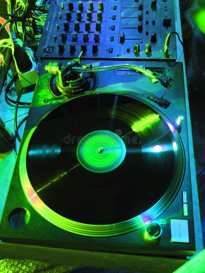 Préparez pour les DJ images stock