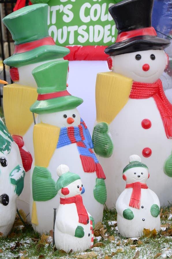 Préparez pour Noël hivernal photographie stock libre de droits