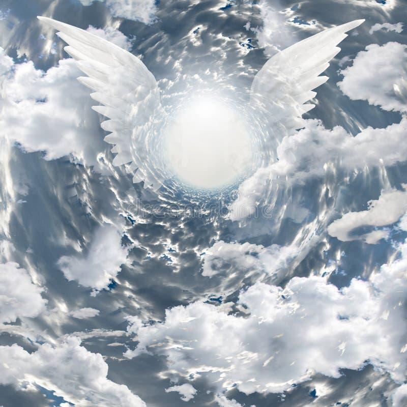 Présence angélique illustration de vecteur