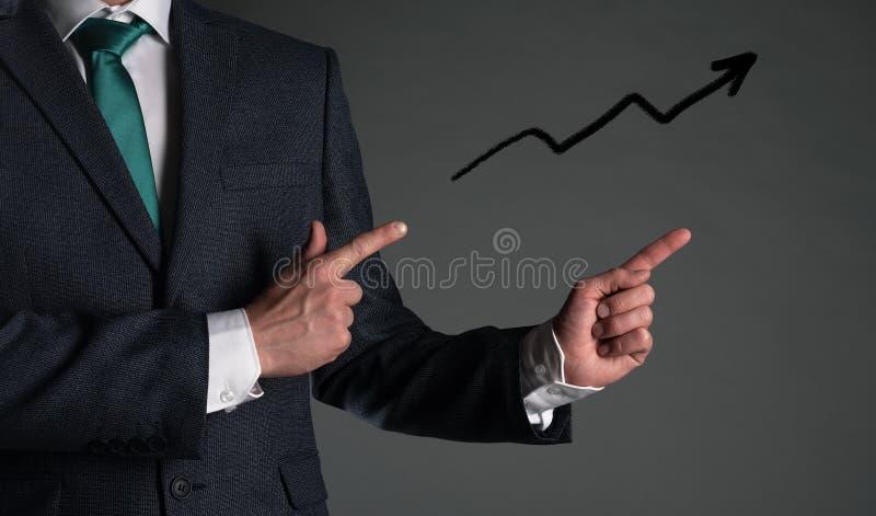 Présentation d'affaires photo stock