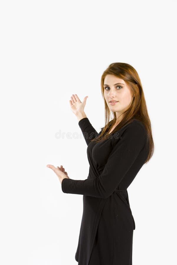 Présentation de femmes d'affaires photos libres de droits
