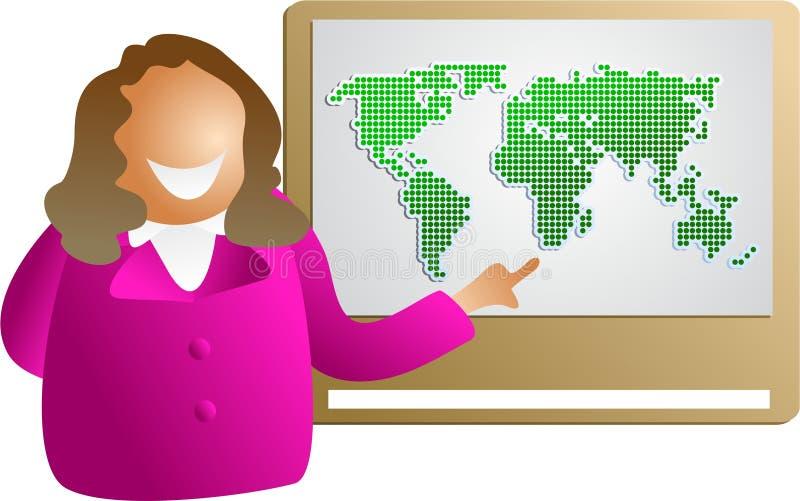 Présentation globale illustration de vecteur