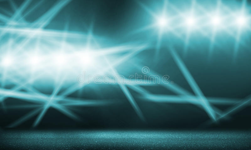 Présentez les lumières image stock