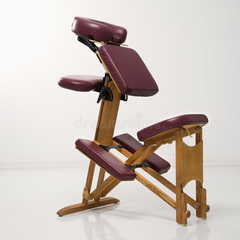 Présidence de massage. photo stock