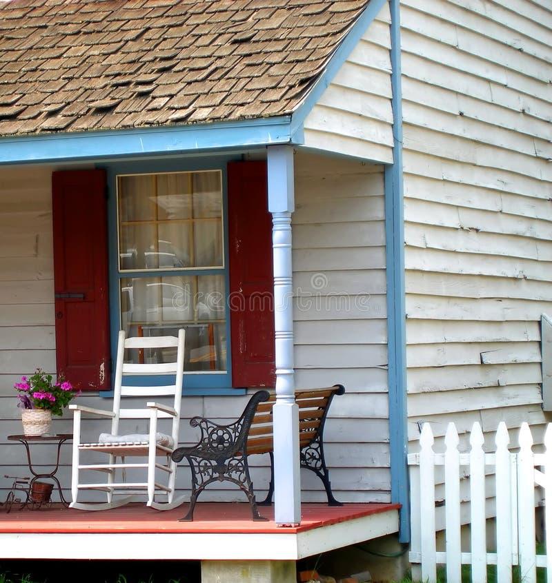 Présidence de porche avant photographie stock libre de droits