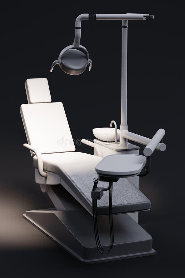 Présidence dentaire illustration stock