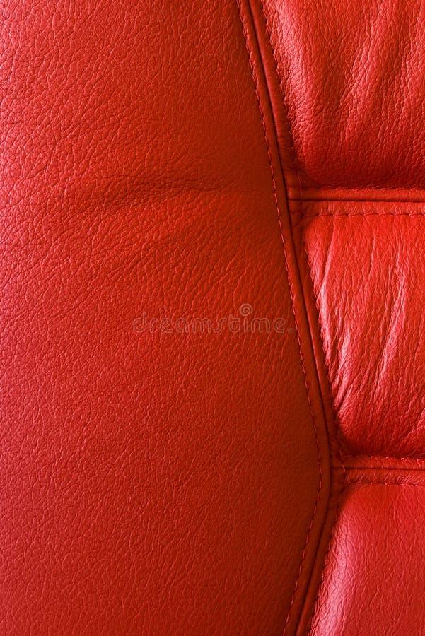 Présidence en cuir rouge photos libres de droits