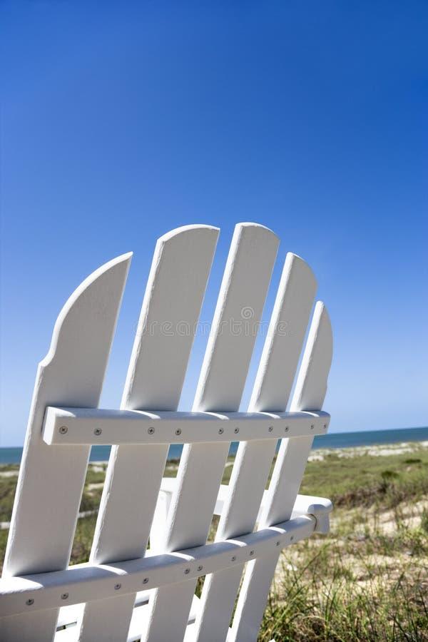 Présidence sur la plage. image stock