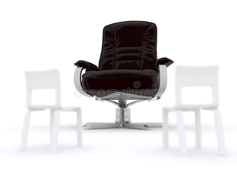 présidences de fauteuil illustration libre de droits