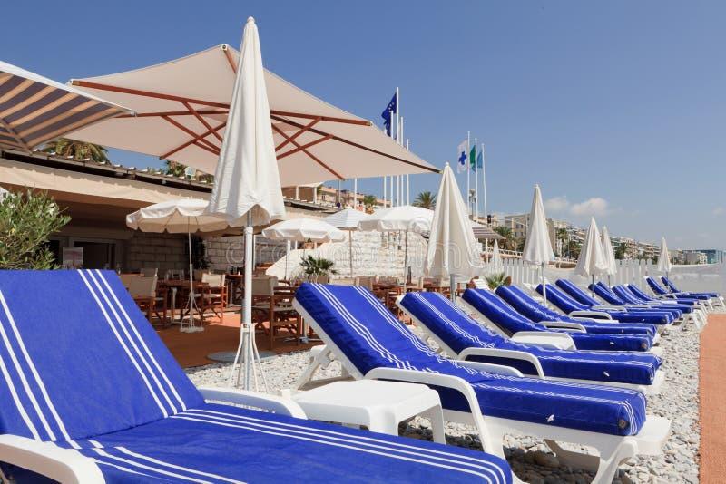Présidences de salon en Côte d'Azur image libre de droits