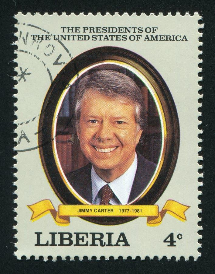Président des États-Unis Jimmy Carter image libre de droits