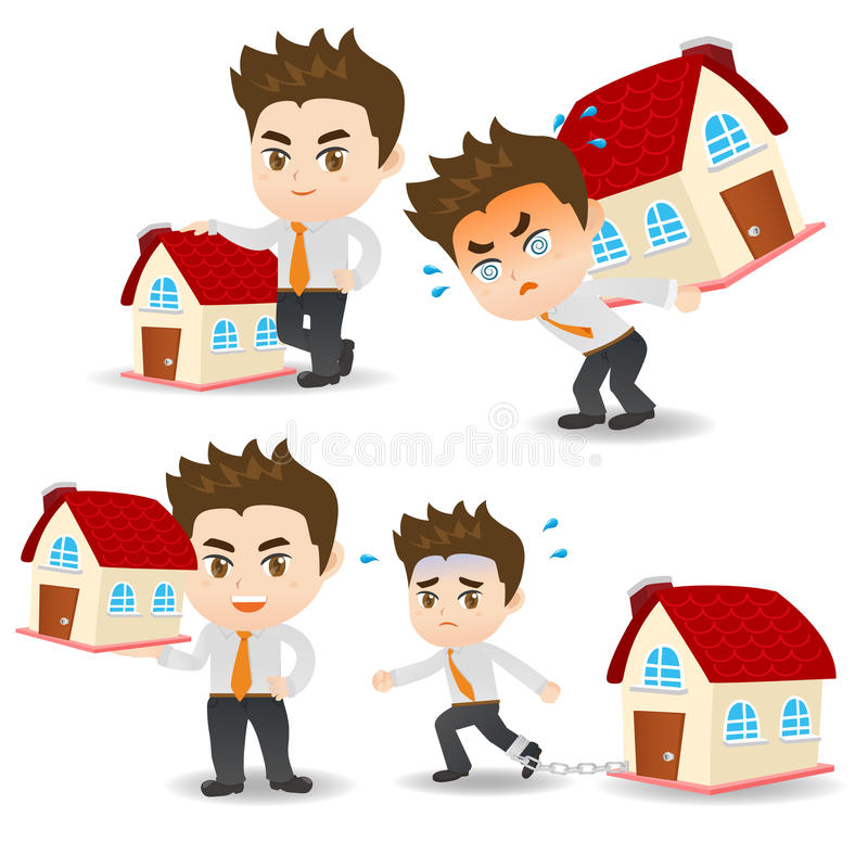 Pr stamo hipotecario del hombre de negocios de la for Prestamo hipotecario