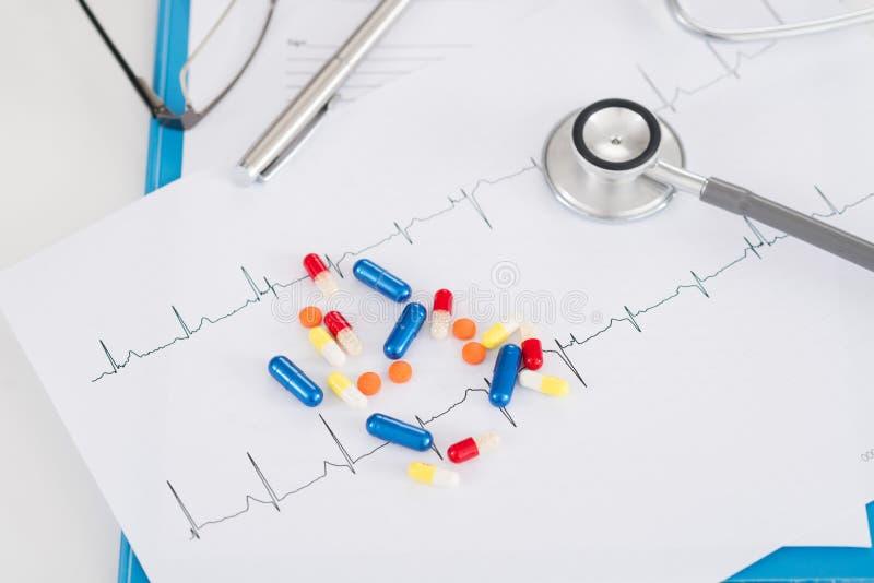 Prévention de maladie cardiaque photographie stock libre de droits