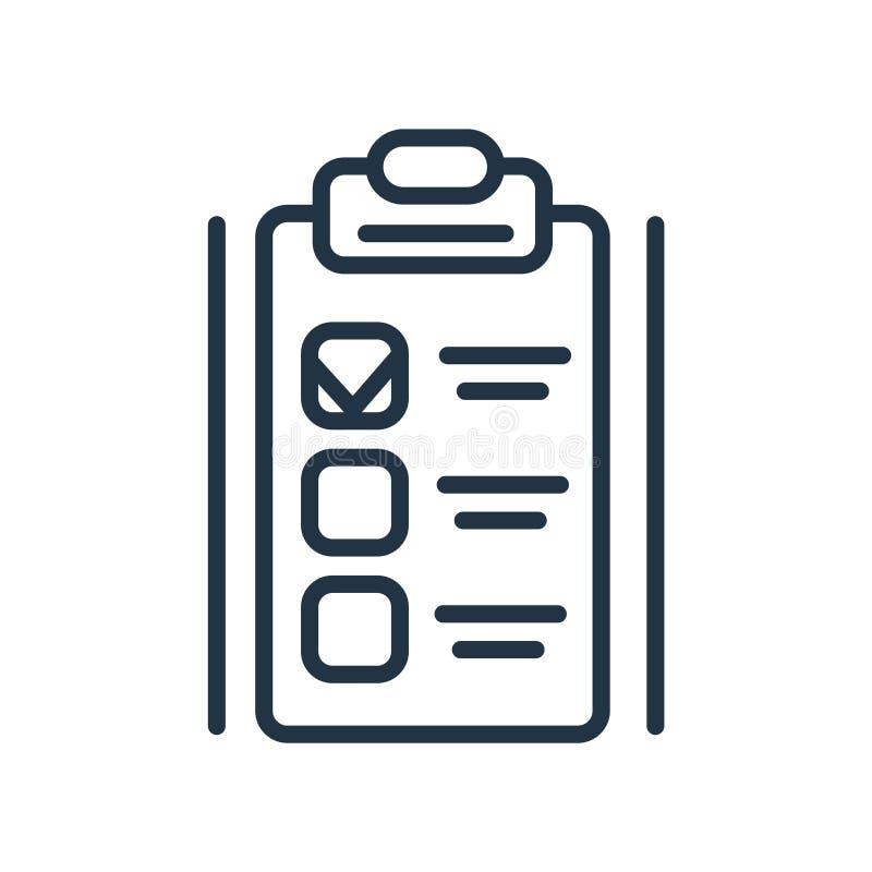 Prévoyez le vecteur d'icône d'isolement sur le fond blanc, signe de plan illustration stock