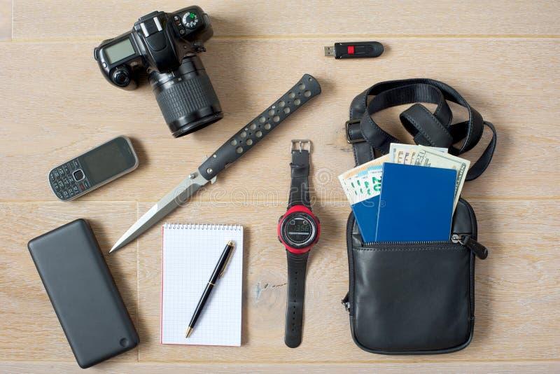 Prêt-à-vont le kit d'espion photos stock