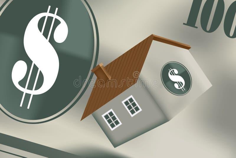 Prêt immobilier illustration libre de droits