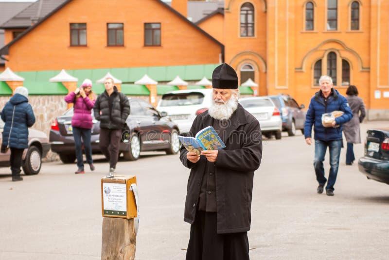 Prêtre chrétien photographie stock