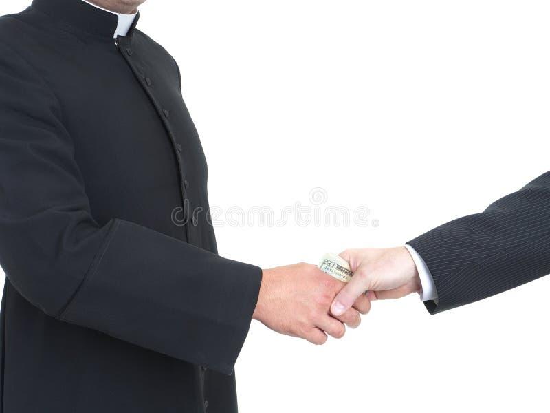 Prêtre corruptible images libres de droits