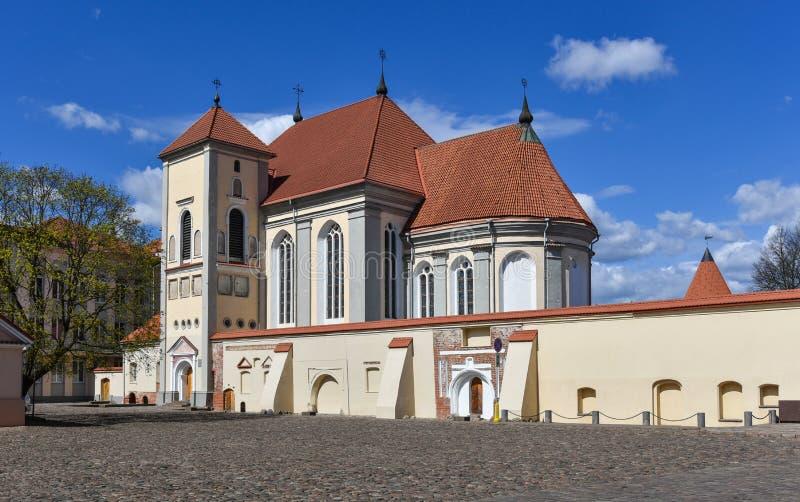 Prêtre Seminary, Lithuanie de Kaunas images stock